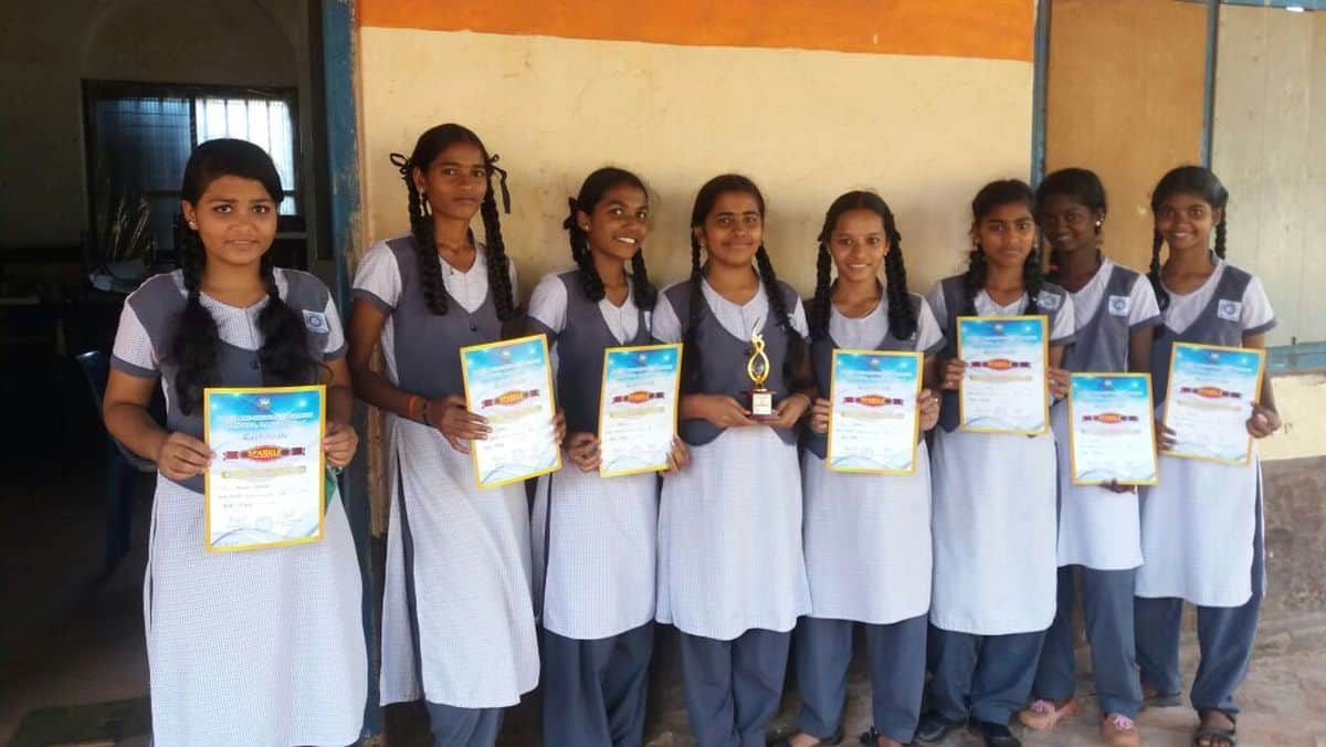 District Level Inter High School Patriotic Song Singing Competition
