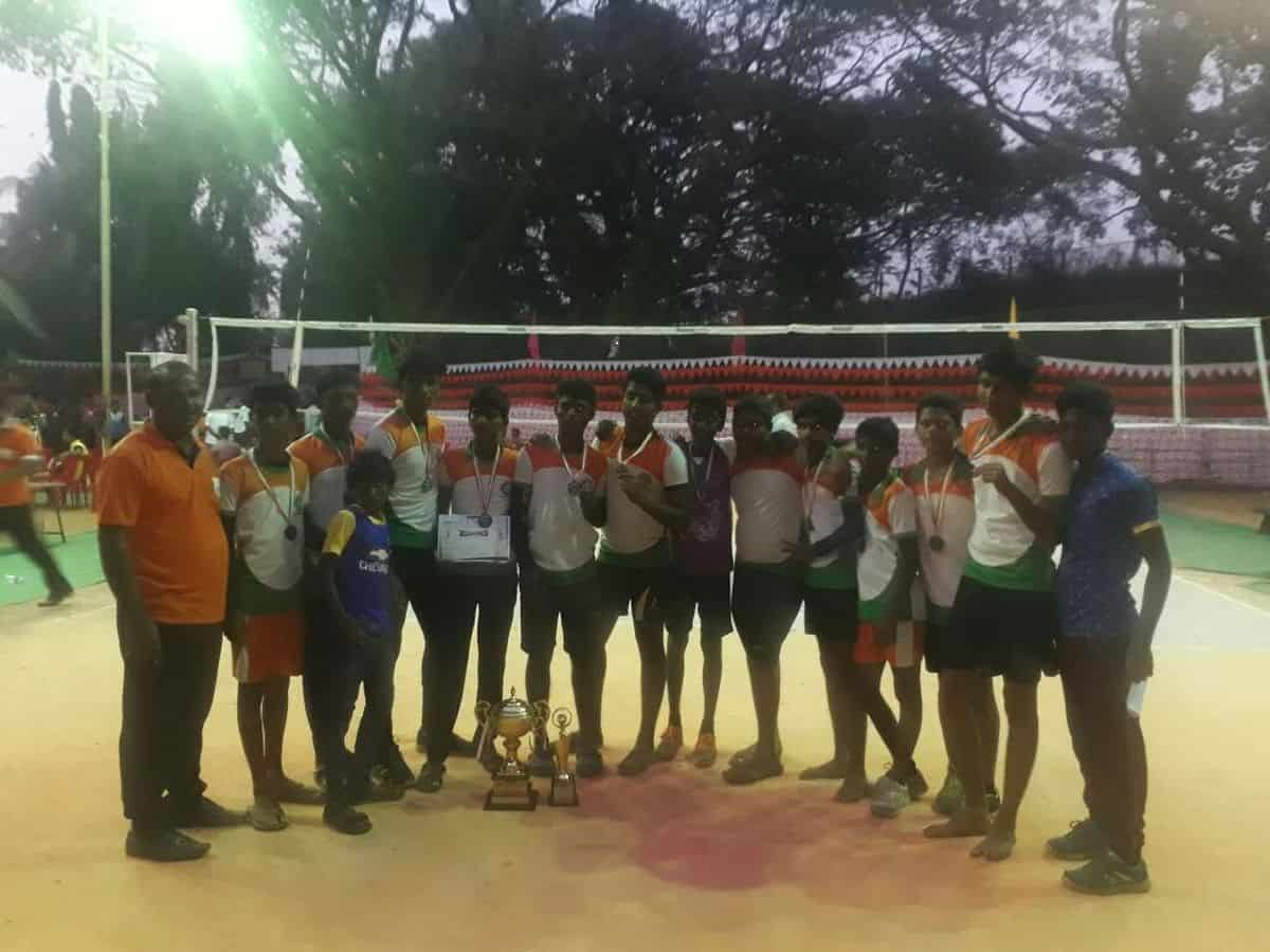 Inter School Volley Ball Match