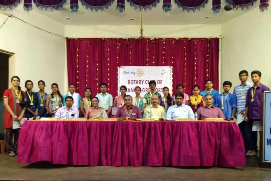 Felicitation to SSLC Toppers by Rotary Mangalore North